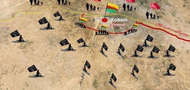 Kobane-harita